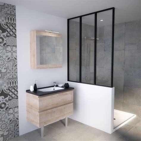 meuble salle de bain taille pratique petits espaces verri 232 re salle de bain r 233 tro loft