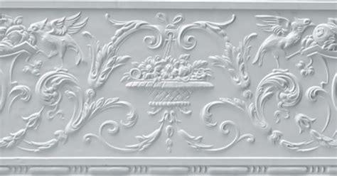 embossed wallpaper border dining room pinterest