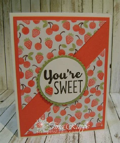 stampin sisters retreat project  cool treats cards
