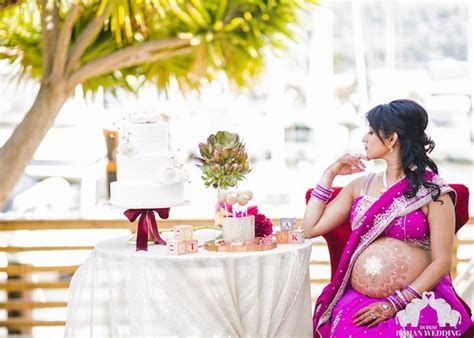 pregnant wedding blogger creates stunning indian inspired maternity  designtaxicom