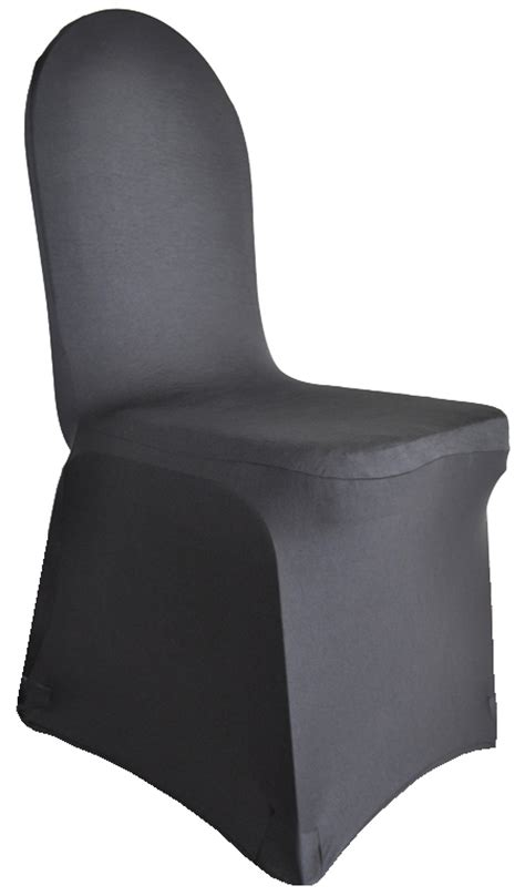spandex black chair cover tesoro event rentals