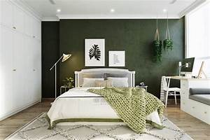 51, Green, Bedrooms, With, Tips, And, Accessories, To, Help, You, Design, Yours