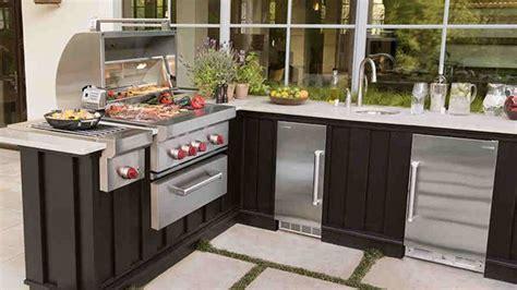 fancy modular outdoor kitchen designs home design lover