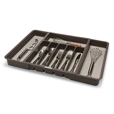 kitchen cutlery drawer organizers coolest 24 expandable cutlery trays 4371