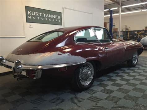 1969 Jaguar E-type 4.2 Liter Series 2 Fhc. Blue W/ Grey
