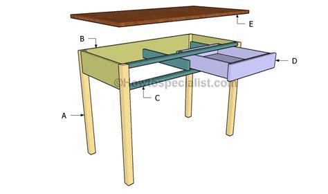 build a computer desk computer desk plans howtospecialist how to build step