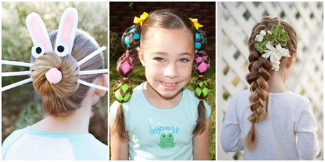 Please share this post on facebook. 8 Cute Easter Hairstyles for Kids - Easy Hair Ideas for Girls this Easter