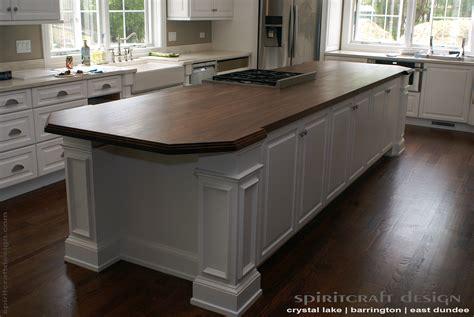 kitchen island top custom walnut slab kitchen island top by spiritcraft