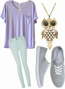 Cute ways to wear pastel school outfits this spring - Page 3 of 5 - myschooloutfits.com