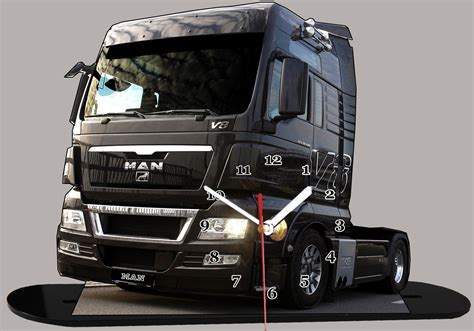 vente siege auto truck allemand v8 miniature camion truck horloge