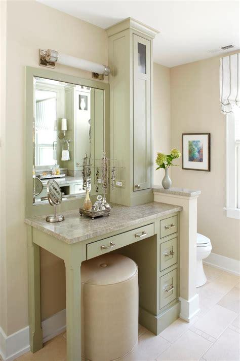 small stylish makeup vanity hgtv bathroom design