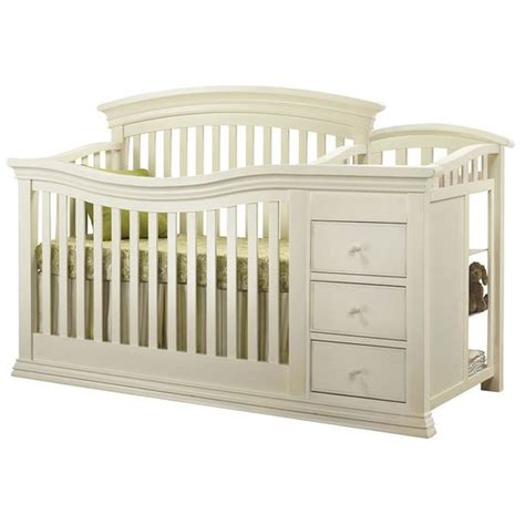 sorelle furniture verona crib changer in french white
