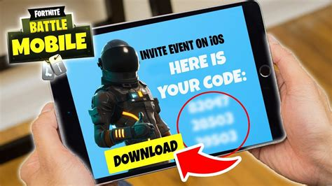 fortnite mobile invite codes  iosiphoneipad