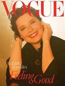 Isabella Rossellini for Vogue Italia June 2012