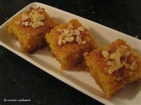cuisine du maroc choumicha basboussa au yaourt choumicha cuisine marocaine