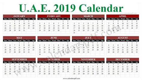 school calendar uae calendar uae school calendar yearly