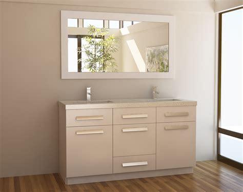 single sink vanity to double sink adorna 60 inch white double sink bathroom vanity in white set
