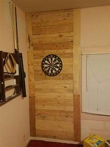 Diy, Pallet, Dart, Board, Wall, I, Don, U0026, 39, T, Know, How, Kids, Can, Miss, By, 3, Feet, But, Now, No, Worries, About