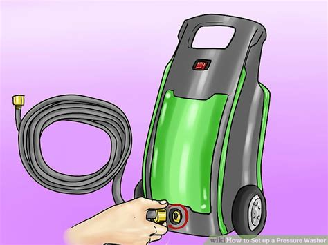 how to hook up a hose to a kitchen sink how to set up a pressure washer 12 steps with pictures 9960