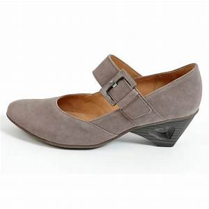 Gabor Shoes Footsie Ladies Mary Jane Shoe in Taupe Mozimo