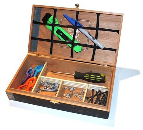 flashback   cigar box organizer  fathers day