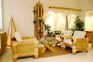 Bamboo house interior design mapo house and cafeteria for Bamboo interior design ideas