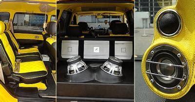 Modifikasi Suzuki Apv Exterior Dan Interior by Review Modifikasi Mobil Avanza Ceper Dan Cara Modifikasinya