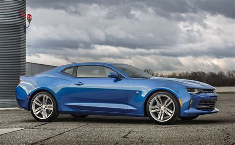 New, 2016 Chevrolet Camaro Chases After The Mustang With A
