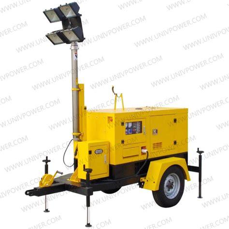 mini power generator mobile trailer generator light tower lighting tower buy