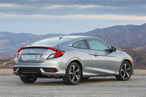 nissan civic 2016 2016 honda civic coupe first test review motor trend