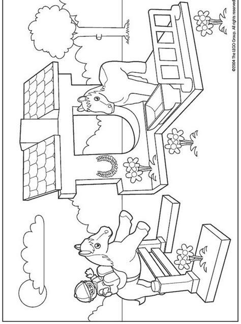 Kleurplaat Ninjago A4 by Kleurplaat Lego Duplo Lego Duplo Malebog Pige Lego