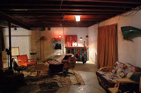 Ideas For Unfinished Basements by Unfinished Basement Ideas On Budget Hunley