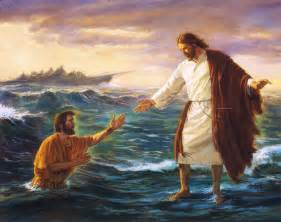 Jesus Walking On Water Miracle