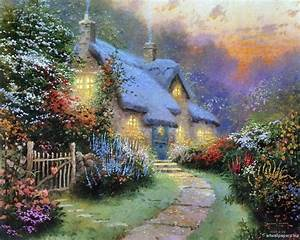 Free Thomas Kinkade Wallpapers For Desktop