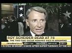 Headline News - on the Death of actor Roy Scheider - Feb ...