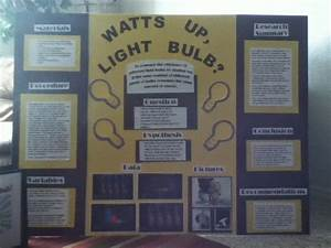 Light Bulb Experiment Science Project