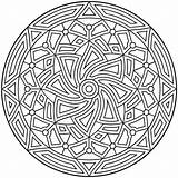 Geometric Coloring Pages Printable sketch template