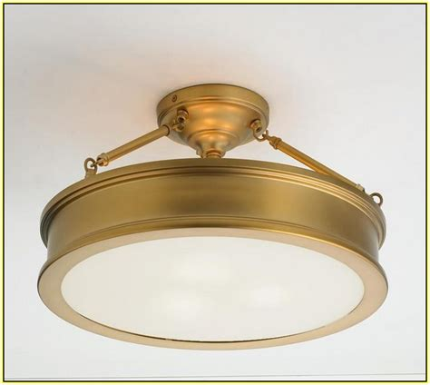 antique brass flush mount ceiling light home design ideas