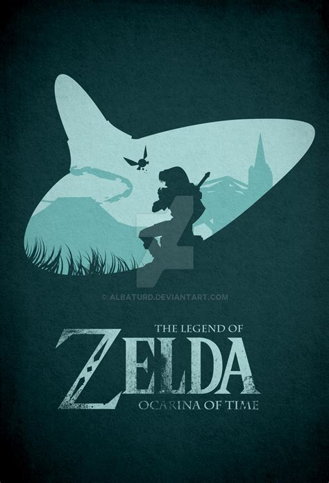 Learn more here you are seeing a 360° image instead. Zelda Ocarina of Time Minimal poster by albaturd on DeviantArt
