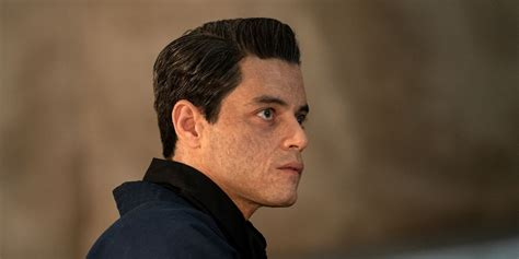 No Time to Die's Rami Malek teases his