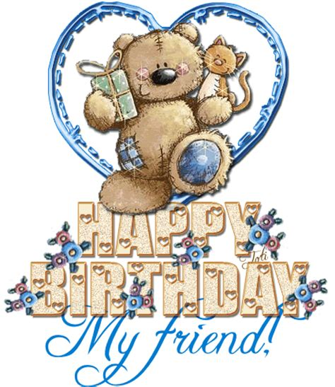 Happy Birthday Friend Clipart Happy Birthday My Friend Pictures Photos And Images For