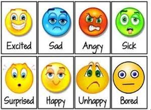 printable feeling faces cards bing images