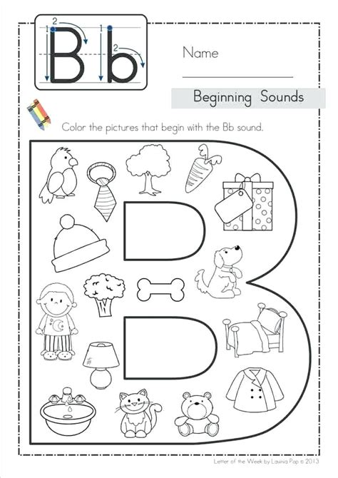 Letter B Activities Find The Letter B Activity Sheet Letter B Activities For Toddlers