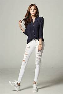 Itsmestyle Best brand SARAH | Fashion | Pinterest | Pants White jeans and Black and white jeans