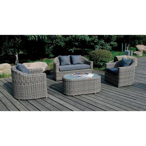 salon de jardin de qualite salon de jardin maldives 1 table 1 canap 233 2 fauteuils 5031s achat vente salon de
