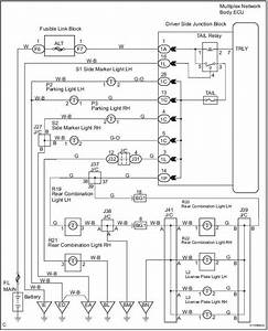 Toyota Sienna Service Manual  Taillight Relay Circuit