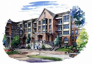 Mixed-use development in Camp Springs, Md., with ...