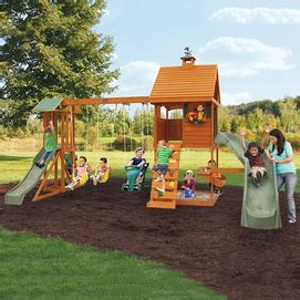 Big Backyard By Solowave by Big Backyard By Solowave 174 Laurelwood Play System Sears