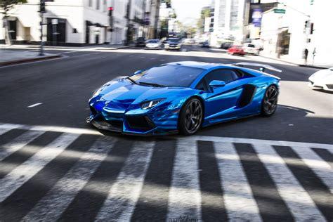 blue chrome lamborghini lamborghini aventador blue chrome wallpaper