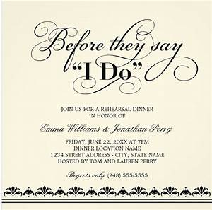 rehearsal dinner etiquette faq everafterguide With etiquette for wedding rehearsal invitations